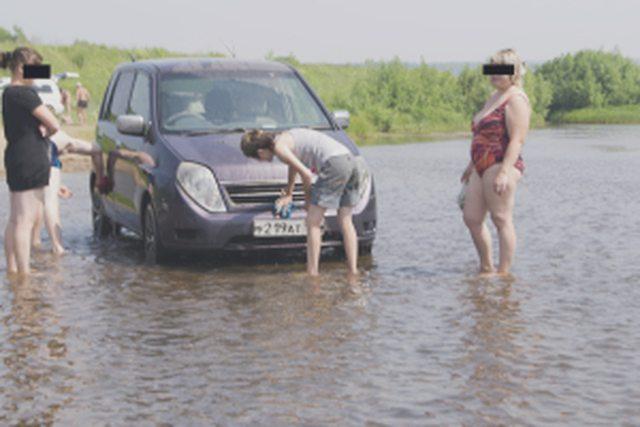 Мойка автомобиля на своей придомовой территриии разрешена или нет